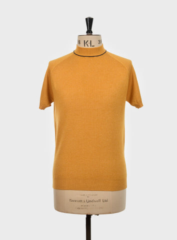 Stoneham Knitted Turtleneck Mustard