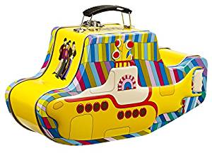 The Beatles Yellow Submarine Shaped Tin Tote