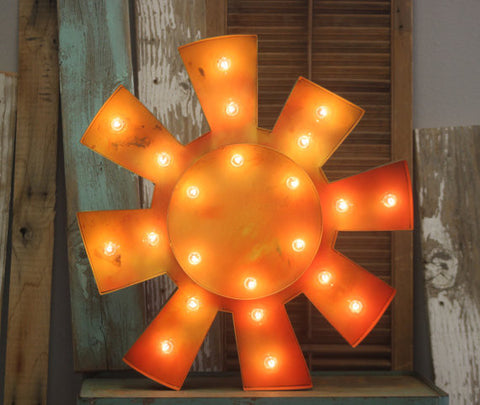 Marquee Sunshine Sign 16""