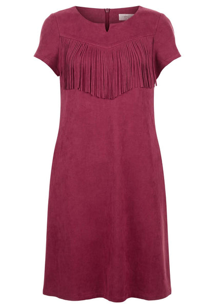 Windy City Tassel Shift Dress