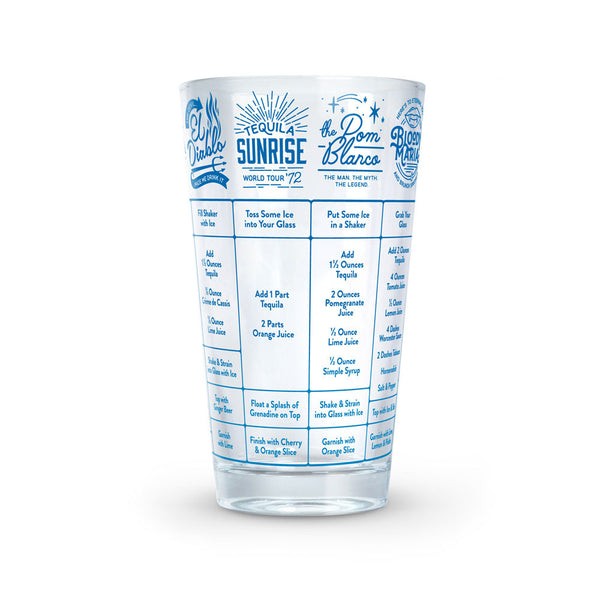 Tequila Recipe Glass