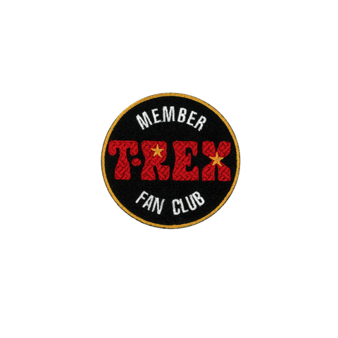 T.Rex Fan Club Patch