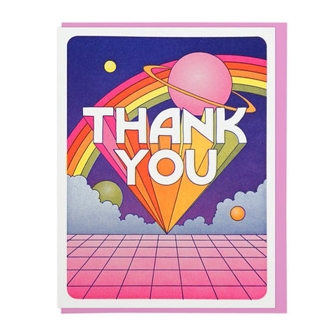Thank You Universe Greeting Card