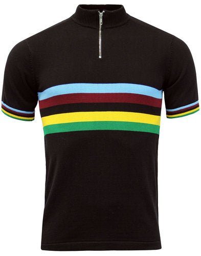 Velo Retro Shirt Black