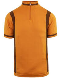 Velocita Cycling Top Golden Oak
