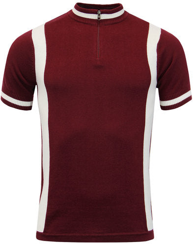 Vittese Retro Cycling Shirt Red