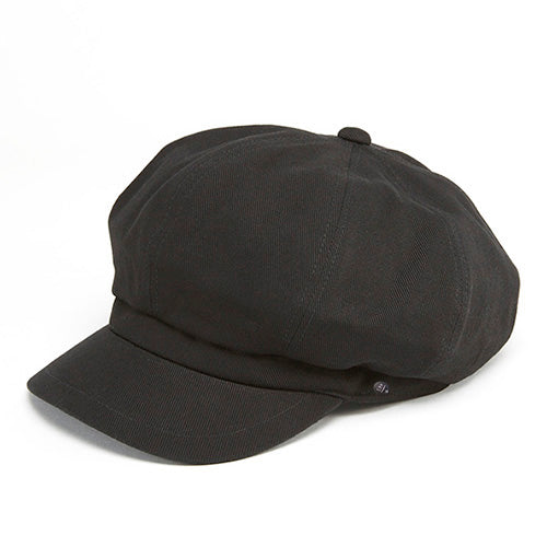 Waisted Twill Casquette Black