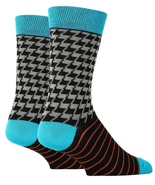Mr. Wallace Bamboo Men's Crew Socks