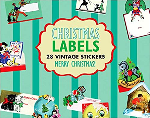 Christmas Gift Labels Sticker Box