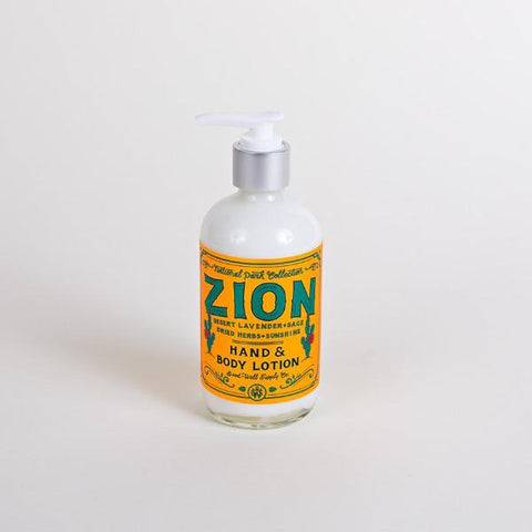 Zion Hand & Body Lotion