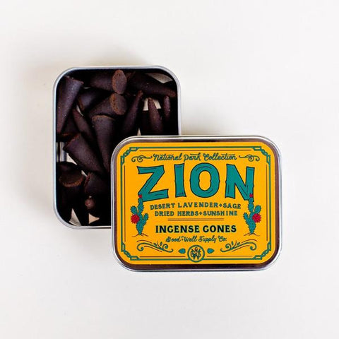 Zion Incense Cones