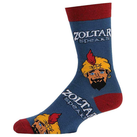 Zoltar Speaks Again Men's Crew Socks