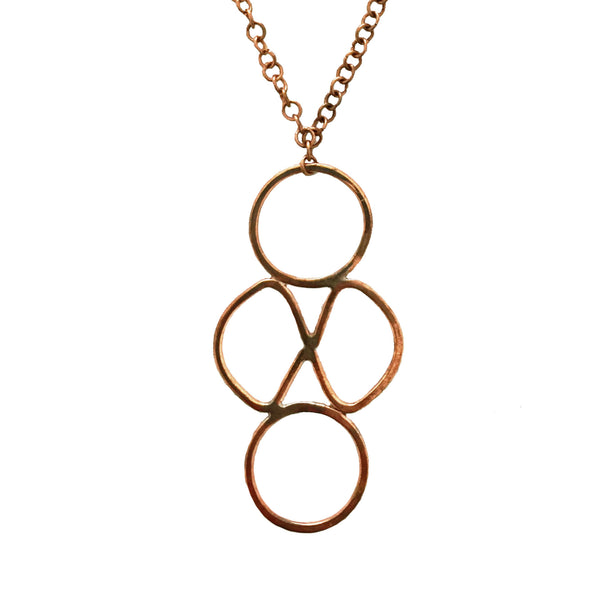 Geo Copper Necklace
