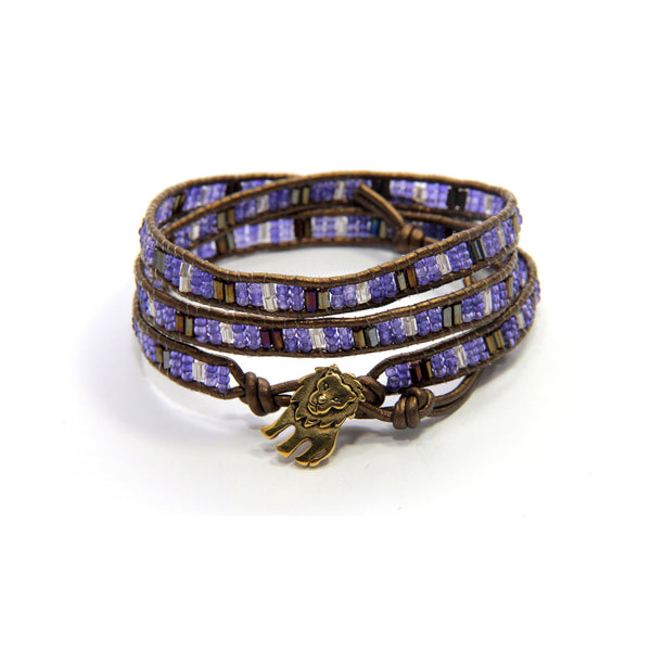 Cecil the Lion 3x Wrap Bracelet