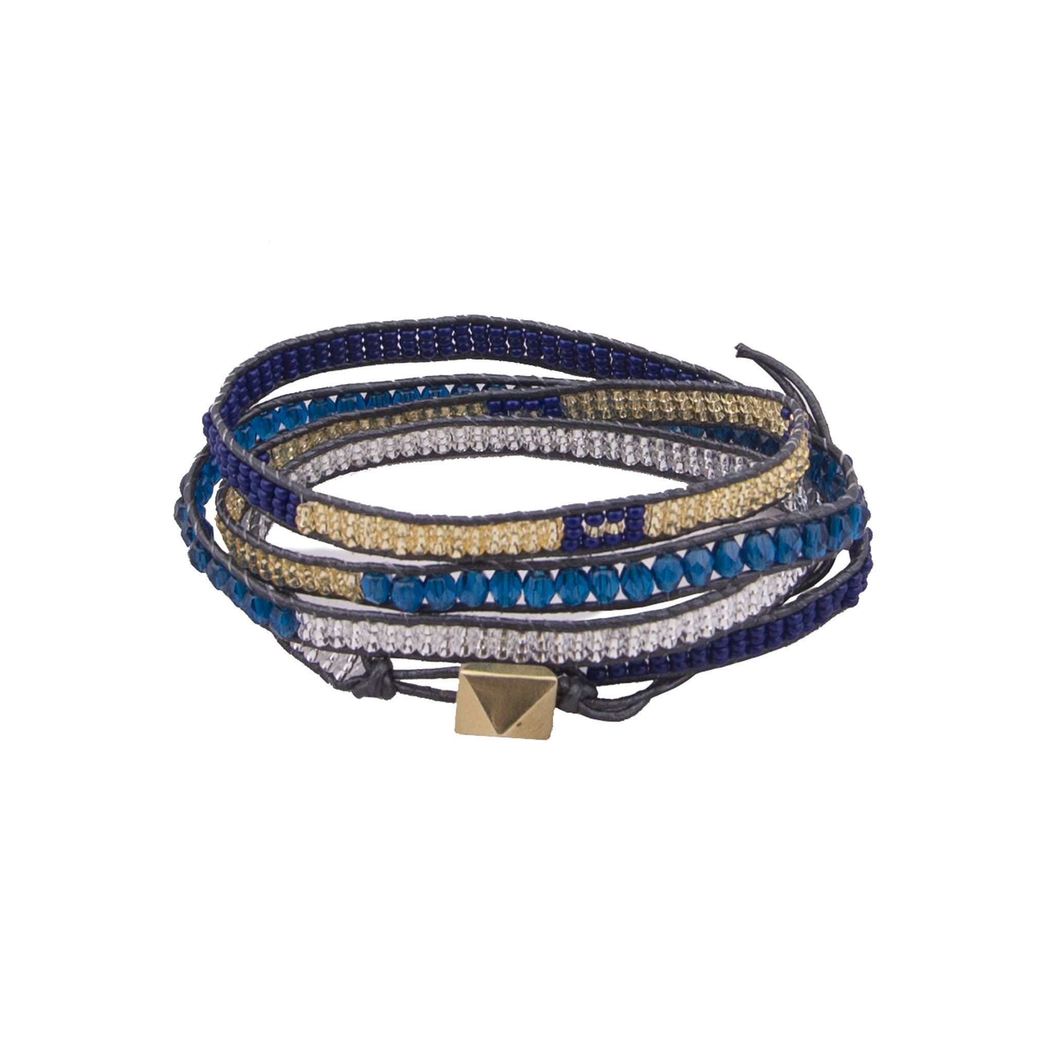 Moraa Wrap Royal Bracelet