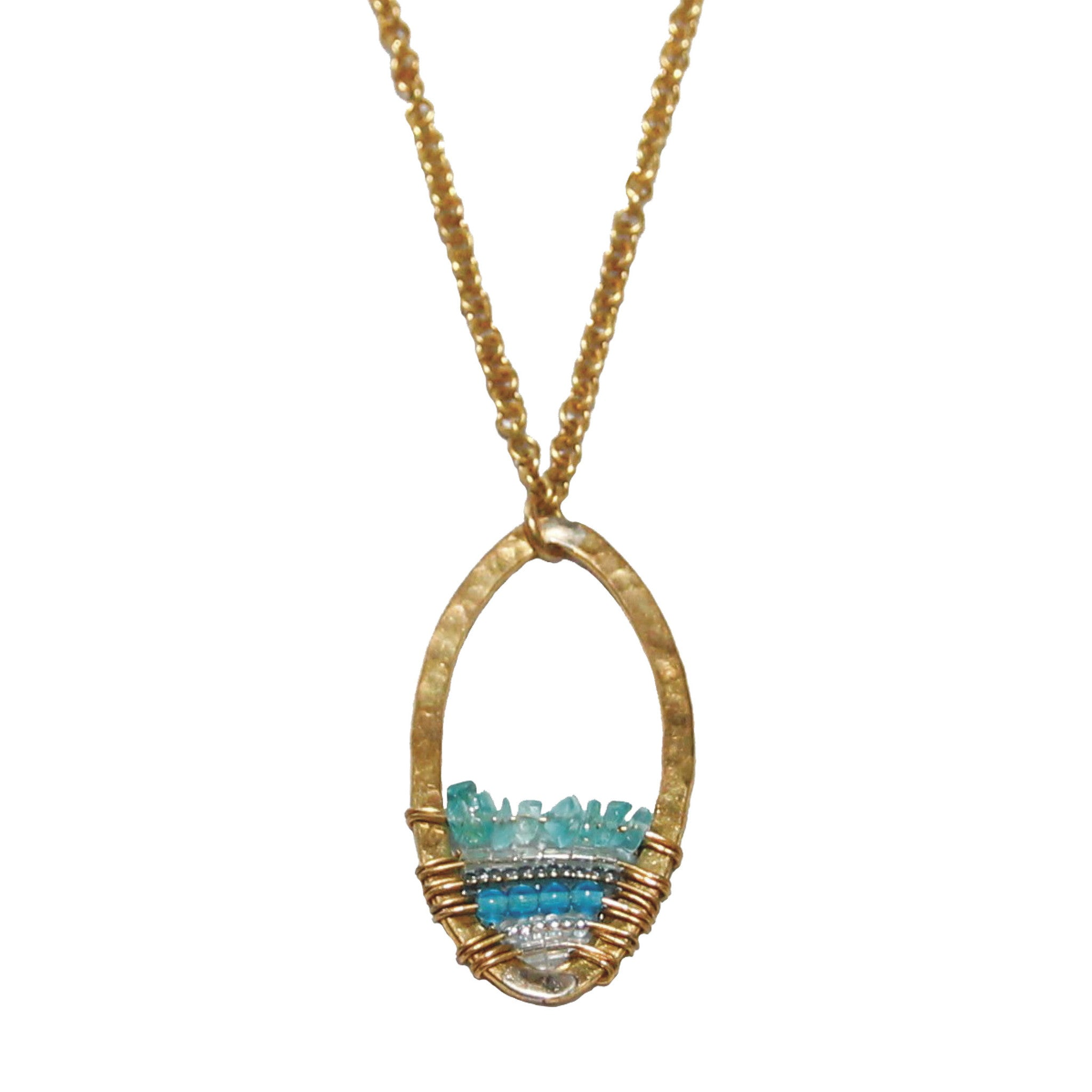 Maji Necklace - Sky Collection