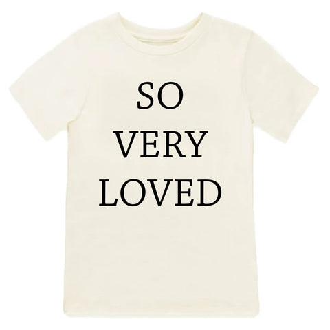 So Very Loved, toddler shirt
