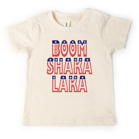 Boom Shaka Laka, Patriotic, toddler shirt