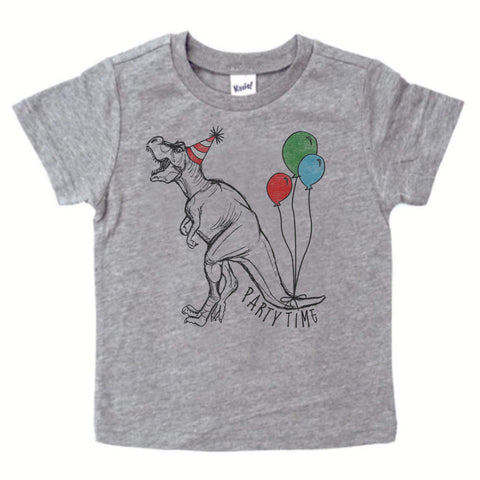 Party Time Dino, toddler shirts