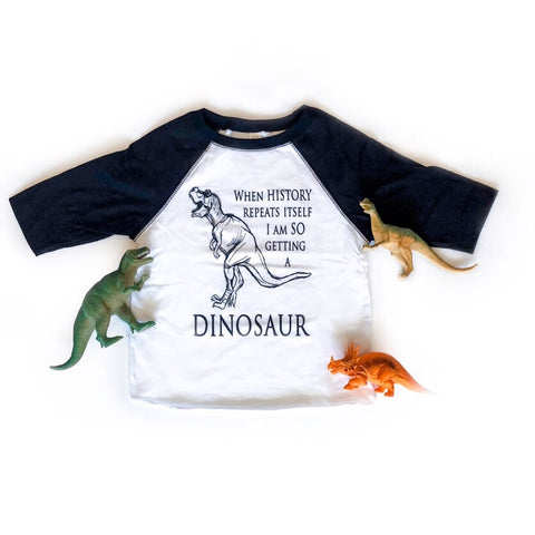 Dinosaur Pet, toddler shirt