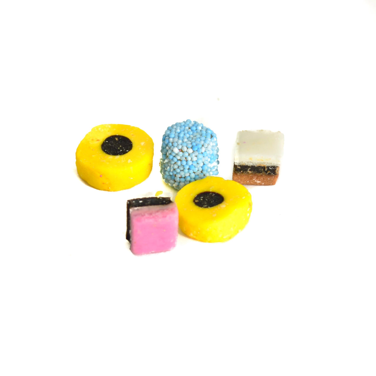 British Licorice Allsorts - Giddy Candy