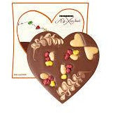 Celebrate Valentine's Day with our Lovey Dovey milk chocolate heart