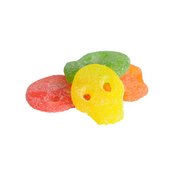 Super Sour Fruit Skulls SURA SKALLAR