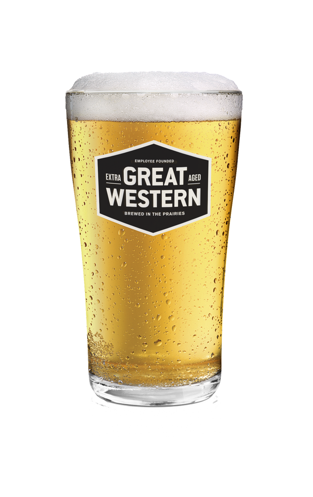Great Western Brand Glass - 16oz
