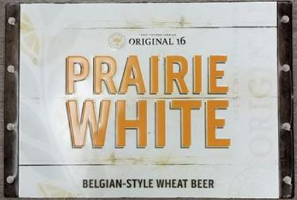 Original 16 Prairie White Tin Tacker