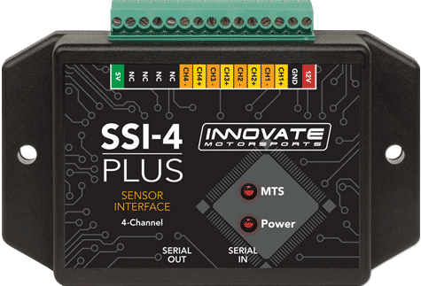 GP-I04 Innovate Motorsports SSI-4 PLUS 4-Channel Simple Sensor Interface P/N 3914