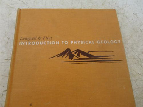 GEOLOGY INTRODUCTION TO PHYSICAL GEOLOGY 1964 FOURTH ANTIQUE GEM MINERAL MINING