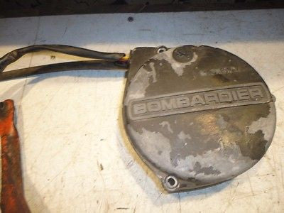1980 Can-Am Qualifier 350 can am alternator stator generator cover magneto oem
