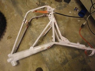 1980 Can-Am Qualifier 350 can am frame oem 80 bombardier original
