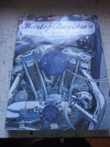 Harley-Davidson : An Illustrated History by Shaun Barrington (1994, Hardcover)