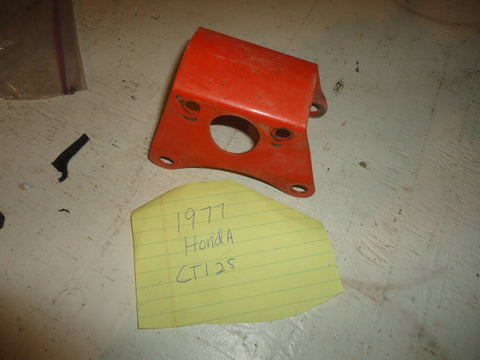 1977 Honda ct125 50351-355-000ZA engine hanger plate, front mount