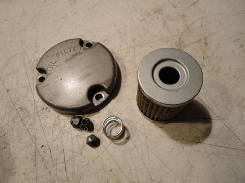 86 Suzuki dr 125 oil filter cover, nuts and element