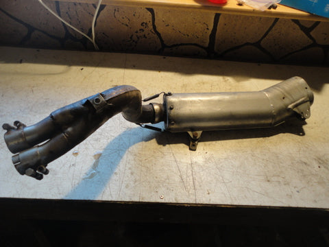 1991 KTM 600 LC4 muffler exhaust pipe