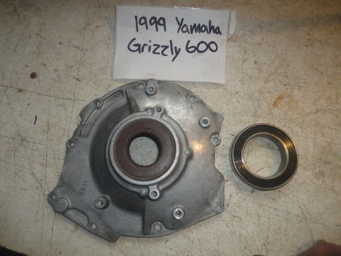 1998 Yamaha Grizzly 600 4x4 WET CLUTCH HOUSING COVER 99 4WV-15163-00-00 oem