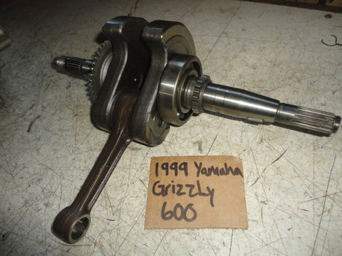 99 Yamaha Grizzly 600 Crank 5GT-11400-00-00 crankshaft shaft oem 1999 rod good