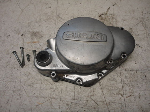 SUZUKI TS185 TS 185 ENGINE CASE CLUTCH COVER 76 1976 side oil fill oem 75 74