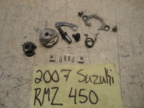 SUZUKI RMZ450 STAR SHIFT MECHANISM RMZ 450 2005 05 25381-37F30 stopper oem
