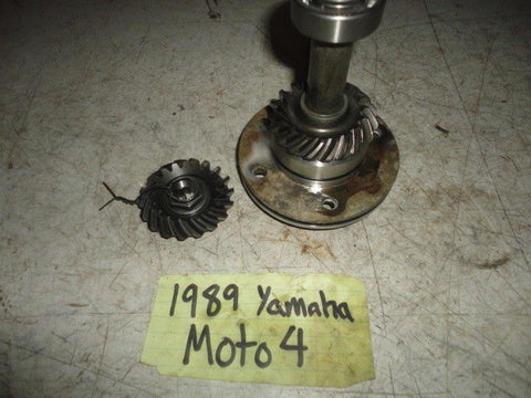 87-89 YAMAHA MOTO 4 YFM250 ENGINE MOTOR TRANSMISSION OUTPUT SHAFT COVER