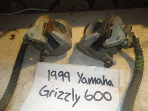 99 Yamaha Grizzly 600 Front Brake Caliper Left Right YFM600F 4x4 4WV-2580T-00-00
