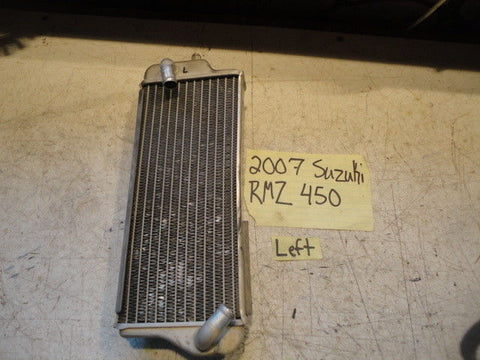 2007 Suzuki RMZ450 Radiator 17710-35G30 set oem 07 left right radiators cooler