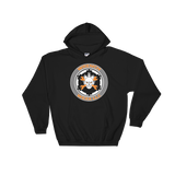 Dark Colored Front Print Wrench Werx Logo Hooded Sweatshirt