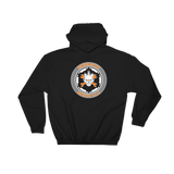 Dark Colored Back Print Wrench Werx logo Hooded Sweatshirt