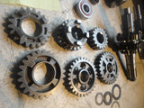 1993 honda cr250  transmission cr 250 cr250r 1993 23210-KZ3-700 gear set gears