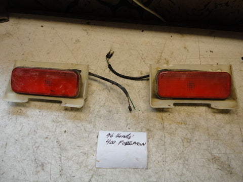 1995 Honda Foreman 400 4x4 Brake Lights Pair Left Right tailights oem