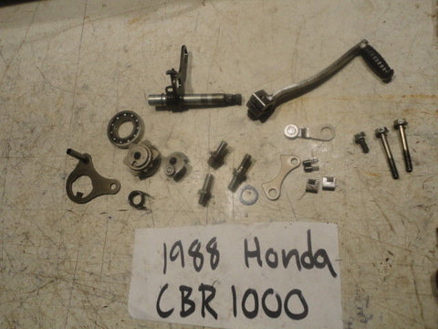 1988 88 HONDA CBR1000F HURRICANE CBR 1000 F SHIFT SHAFT ASSEMBLY 24312-KT8-300