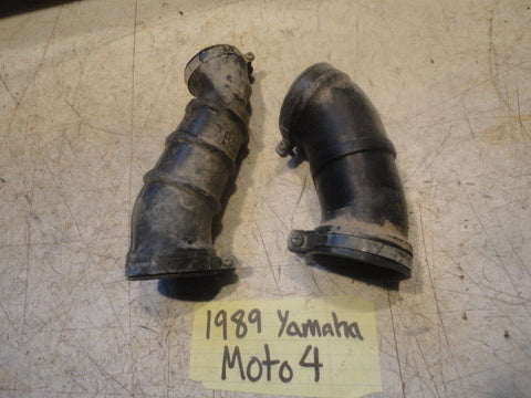 89 YAMAHA YFM250 MOTO 4 AIRBOX 3GH-14453-00-00 INTAKE RUBBER BOOT TUBE joint